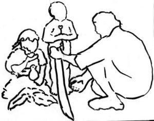 Contorno del núcleo familiar
